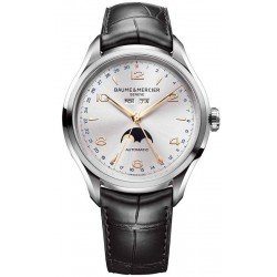 Baume & Mercier Men's Watch Clifton Moonphase Automatic 10055