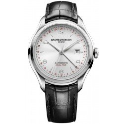Baume & Mercier Men's Watch Clifton Dual Time Automatic 10112