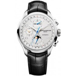 Baume & Mercier Men's Watch Clifton Chronograph Moonphase Automatic 10278