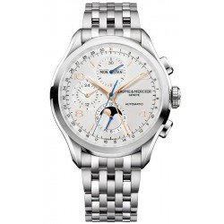 Baume & Mercier Men's Watch Clifton Chronograph Moonphase Automatic 10279