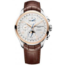 Baume & Mercier Men's Watch Clifton Chronograph Moonphase Automatic 10280