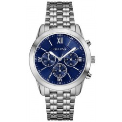 Bulova Men's Watch Dress Quartz Chronograph 96A174
