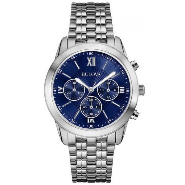 Buy Bulova Men's Watch Dress Quartz Chronograph 96A174