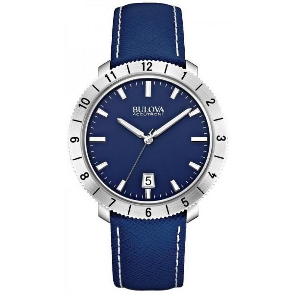 Buy Bulova Men's Watch Moonview Accutron II Precisionist 96B204 Quartz