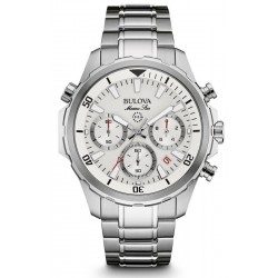 Bulova Men's Watch Marine Star 96B255 Quartz Chronograph