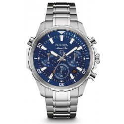 Bulova Men's Watch Marine Star 96B256 Quartz Chronograph