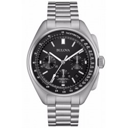 Bulova Men's Watch Moon Precisionist 96B258 Quartz Chronograph