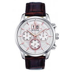 Bulova Men's Watch Sutton Classic Quartz Chronograph 96B309