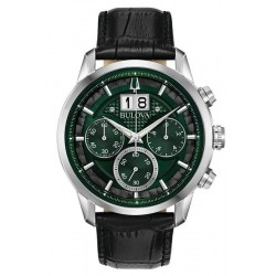 Bulova Men's Watch Sutton Classic Quartz Chronograph 96B310