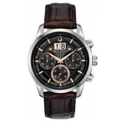 Bulova Men's Watch Sutton Classic Quartz Chronograph 96B311