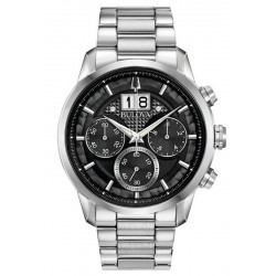 Bulova Men's Watch Sutton Classic Quartz Chronograph 96B319