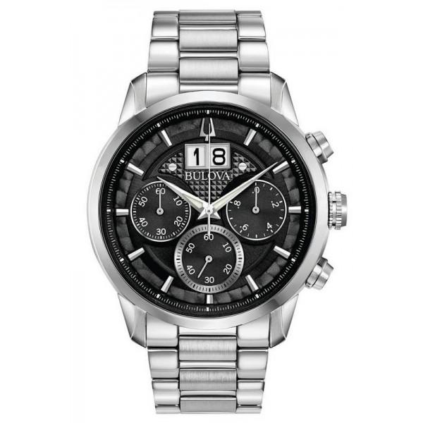 Buy Bulova Men's Watch Sutton Classic Quartz Chronograph 96B319