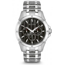 Bulova Men's Watch Dress Quartz Multifunction 96C107