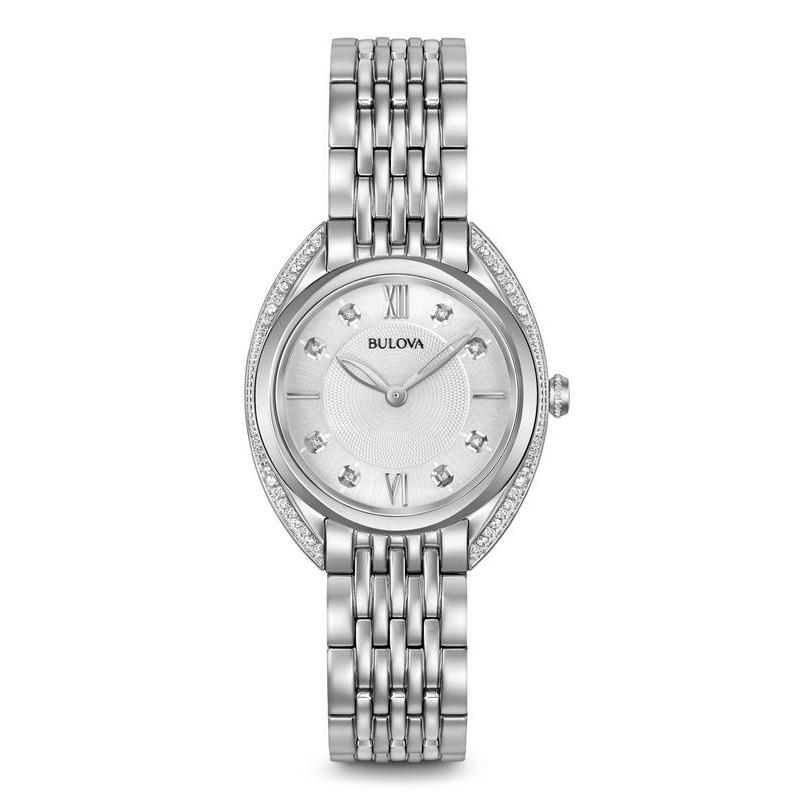 ed0c4eb44 Bulova Women's Watch Curv Diamonds 96R212 Quartz