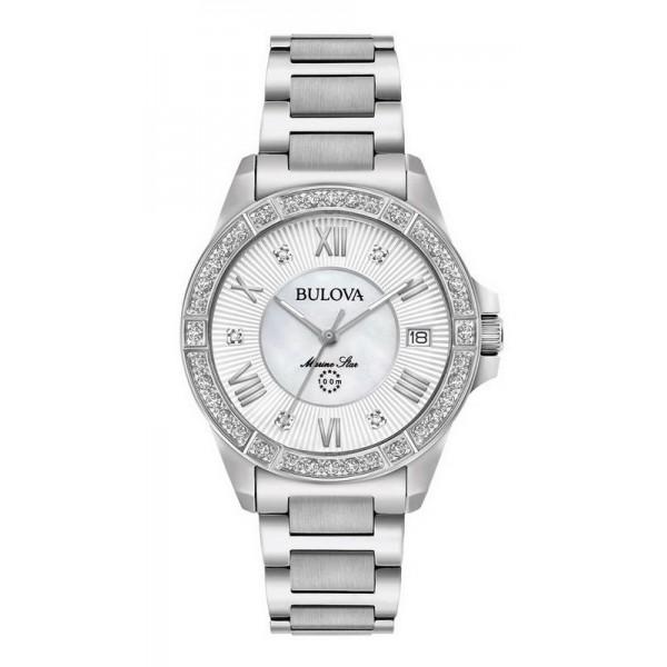 Buy Bulova Women's Watch Marine Star Quartz 96R232