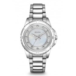 Bulova Women's Watch Diamonds 96S144 Quartz
