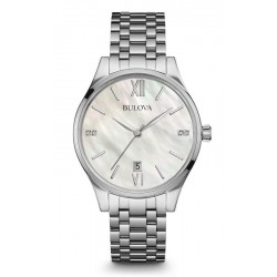 Buy Bulova Women's Watch Diamonds 96S161 Quartz