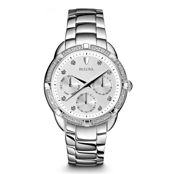 Buy Bulova Women's Watch Diamonds 96S152 Quartz