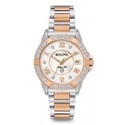 Bulova Women's Watch Marine Star Quartz 98R234