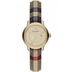 Buy Burberry Women's Watch The Classic Round BU10104