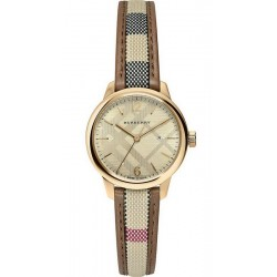 Buy Burberry Women's Watch The Classic Round BU10114