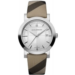 Buy Burberry Unisex Watch The City Nova Check BU1390