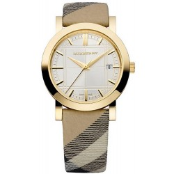 Buy Burberry Women's Watch The City Nova Check BU1398