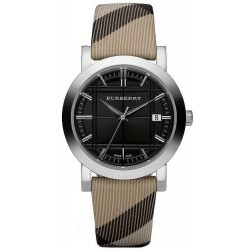 Buy Burberry Men's Watch The City Nova Check BU1772