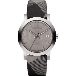 Buy Burberry Unisex Watch The City Nova Check BU1774