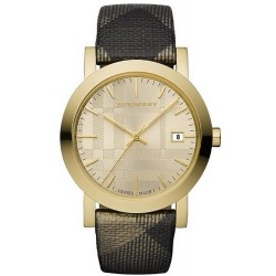 Buy Burberry Unisex Watch The City Nova Check BU1874