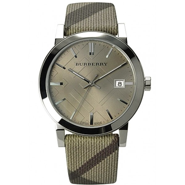 Buy Burberry Unisex Watch The City Nova Check BU9023