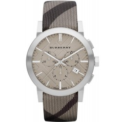 Burberry Men's Watch The City Nova Check BU9358 Chronograph
