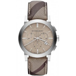 Burberry Men's Watch The City Nova Check BU9361 Chronograph