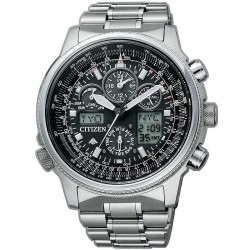 Citizen Men's Watch Promaster Super Pilot Radio Controlled Titanium JY8020-52E