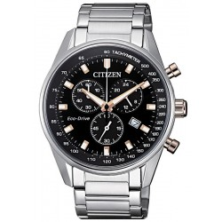 Citizen Men's Watch Chrono Eco-Drive AT2396-86E