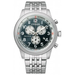 Buy Citizen Mens Watch Aviator Chrono Eco Drive AT2460-89L