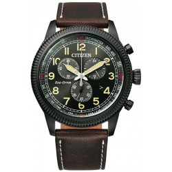 Buy Citizen Mens Watch Aviator Chrono Eco Drive AT2465-18E
