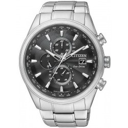 Citizen Men's Watch Chrono Eco-Drive Radio Controlled AT8011-55E