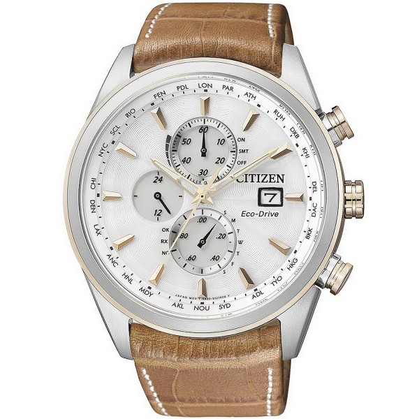 Buy Citizen Men's Watch Chrono Eco-Drive Radio Controlled AT8017-08A