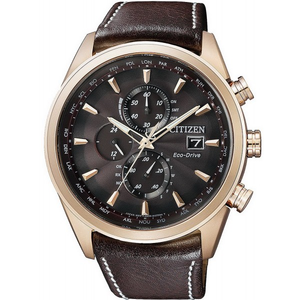 Buy Citizen Men's Watch Chrono Eco-Drive Radio Controlled AT8019-02W