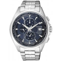 Citizen Men's Watch Radio Controlled H800 Eco-Drive Titanium AT8130-56L