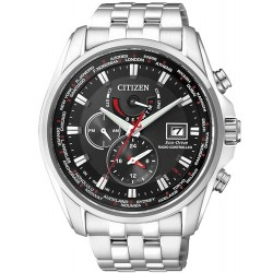 Citizen Men's Watch Radio Controlled Chrono Eco-Drive AT9030-55E