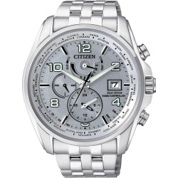 Citizen Men's Watch Radio Controlled Chrono Eco-Drive AT9030-55H