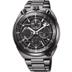 Citizen Men's Watch Bullhead Chrono Eco-Drive AV0075-70E