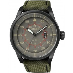 Citizen Men's Watch Aviator Eco-Drive AW1365-01H