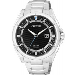 Citizen Men's Watch Super Titanium Eco-Drive AW1400-52E