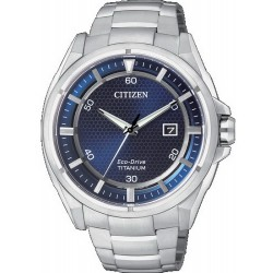 Citizen Men's Watch Super Titanium Eco-Drive AW1400-52M