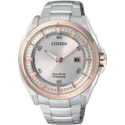 Citizen Men's Watch Super Titanium Eco-Drive AW1404-51A