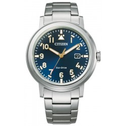 Citizen Men's Watch Military Eco Drive AW1620-81L