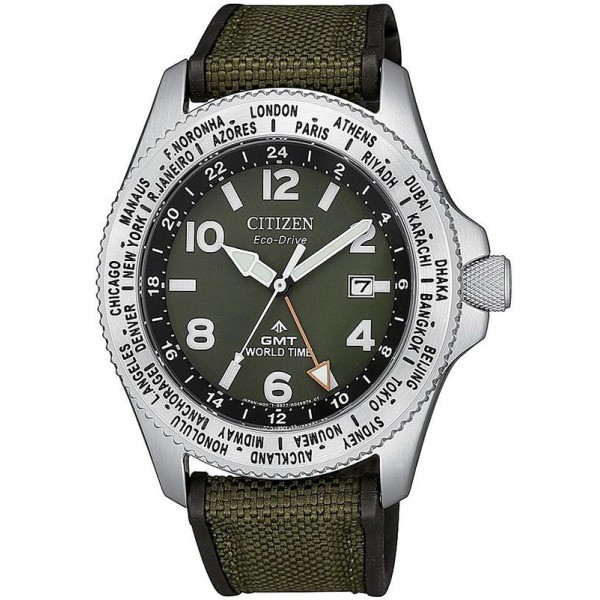 Buy Citizen Men's Watch Promaster Field GMT BJ7100-23X